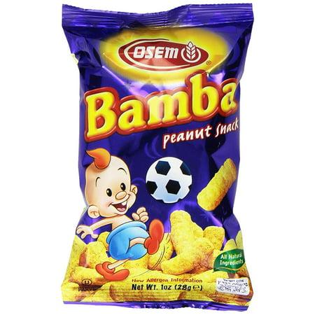 Bamba Peanut Butter Snacks All Natural Peanut Butter Corn Puff Snack (Pack of (Natural Puff)