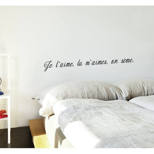 ADZif Mia & Co on S me Wall Decal