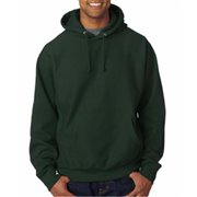 Weatherproof 7700 Adult Cross Weave Hooded Sweatshirt - Forest Green, Large