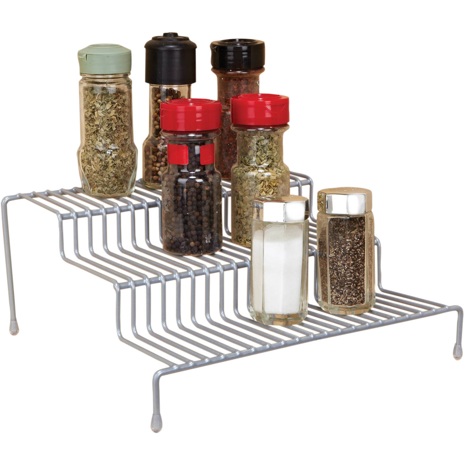 Grey 3-Tier Spice Organizer
