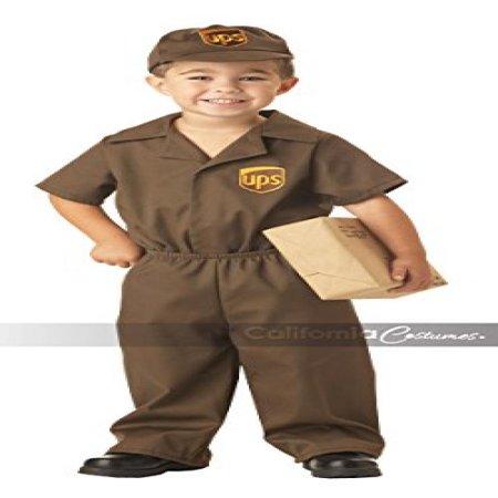 California Costumes Ups Driver Toddler Costume, (Children's Ups Costume)