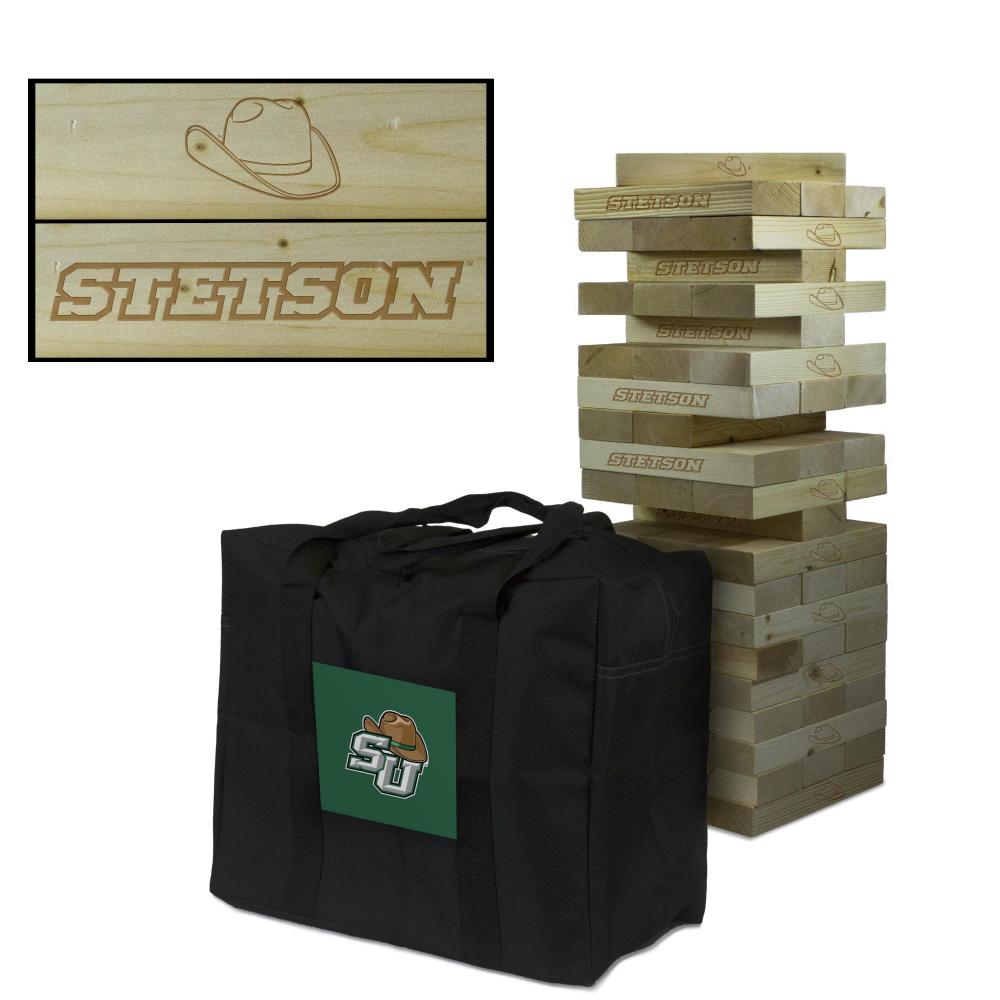 Stetson University Hatters Giant Wooden Tumble Tower Game