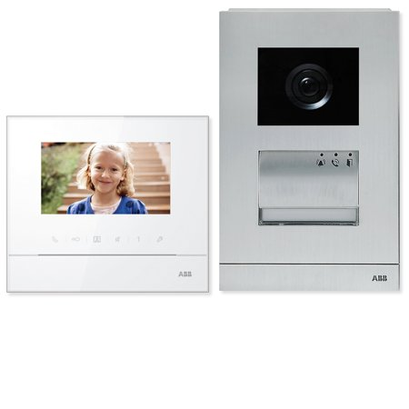 Abb Welcome Hands Free Video Single Family Home Kit  M20321