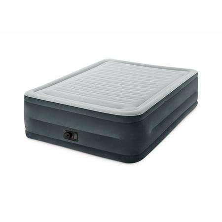 Intex Full 22  Durabeam Airbed Mattress With Built In Pump