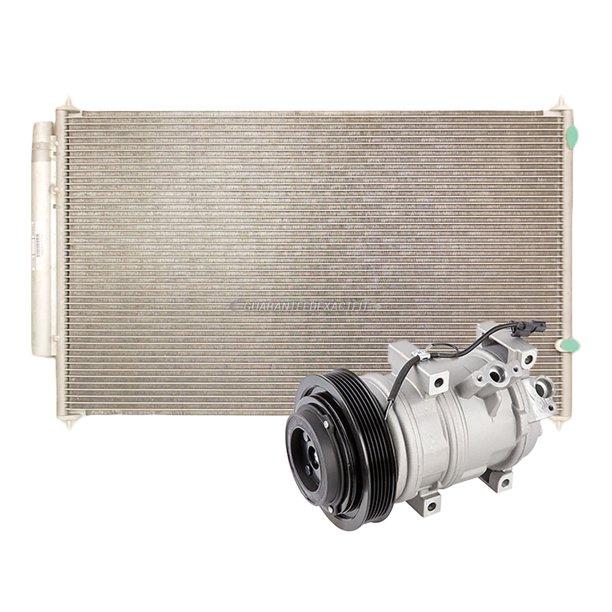 For Acura MDX 2007-2013 AC Compressor W/ A/C Condenser
