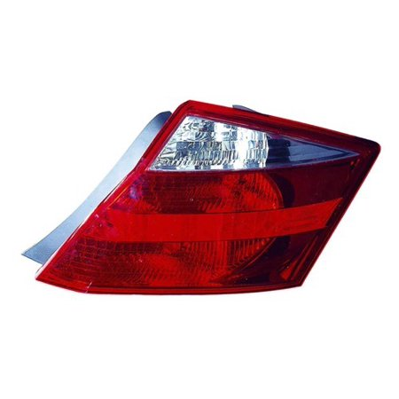 Go-Parts » 2008 - 2010 Honda Accord Rear Tail Light Lamp Assembly / Lens / Cover - Left (Driver) Side - (2 Door; Coupe) 33550-TE0-A01 HO2800171 Replacement For Honda Accord