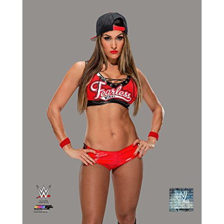 Nikki Bella   8X10 Photo  Wearing Red Attire   Officially Licensed By Wwe Usa