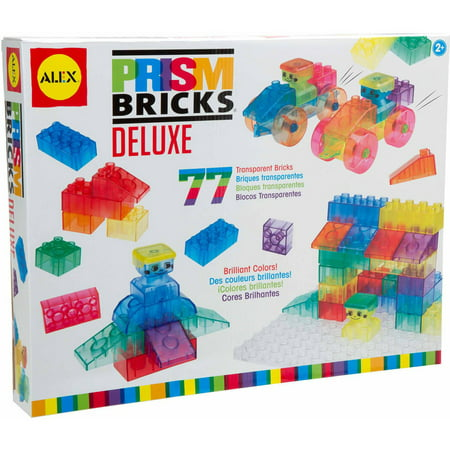 ALEX Toys Early Learning, Little Hands Prism Bricks Deluxe Kit, K684