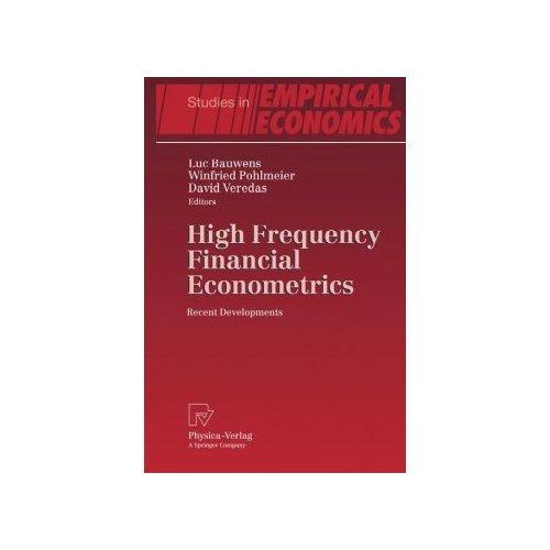 High Frequency Financial Econometrics: Recent Developments