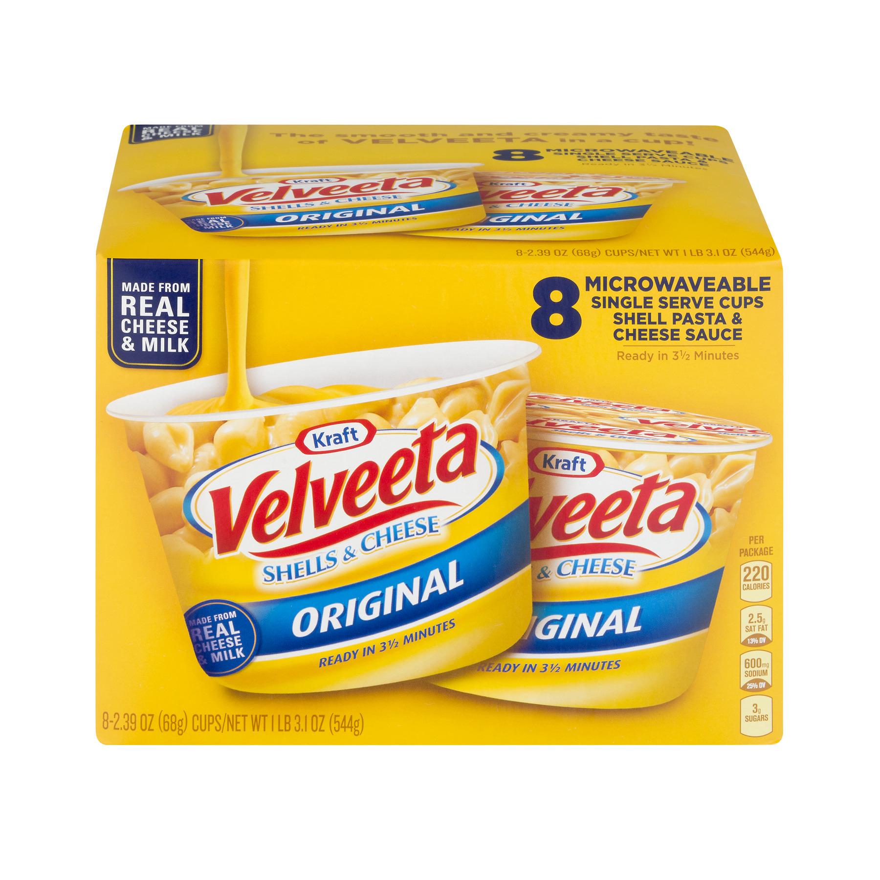 Velveeta Shells & Cheese Original - 8 CT
