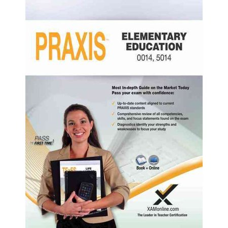 Praxis Elementary Education 0014, 5014 Book and Online