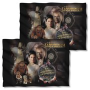 Labyrinth 1986 Family Fantasy Adventure Movie Poster Front Back Pillow Case