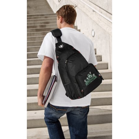 Michigan State Backpack Single Strap Peace Frog Michigan State Sling (Michigan Single)
