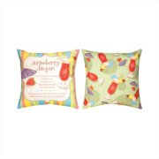 Manual Woodworkers and Weavers SQFSDD Fun Summer Drinks Daiquiri Climaweave Pillow Digitally Printed 20 X 20 inch