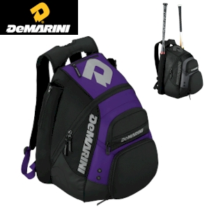 DeMarini Voodoo Paradox Backpack - Black/Purple