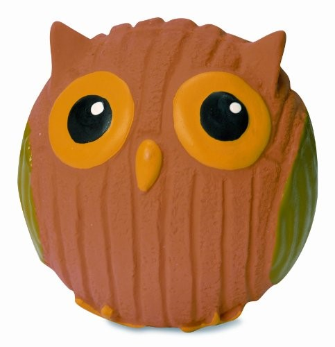 Hugglehounds Ruff-Tex Poppy the Owl Mini Dog Toy