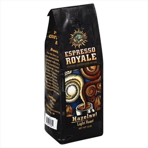 ESPRESSO ESPRESSO HAZELNUT MED RST-12 OZ -Pack of 6