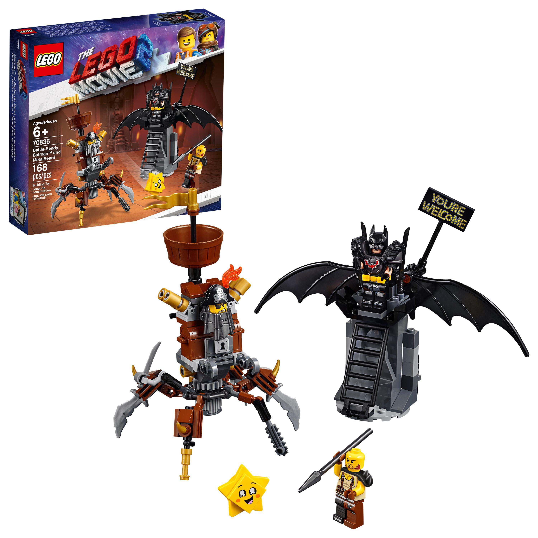 "LEGO The LEGO Movie 2 Battle-Ready Batmanâ""¢ and MetalBeard 70836"