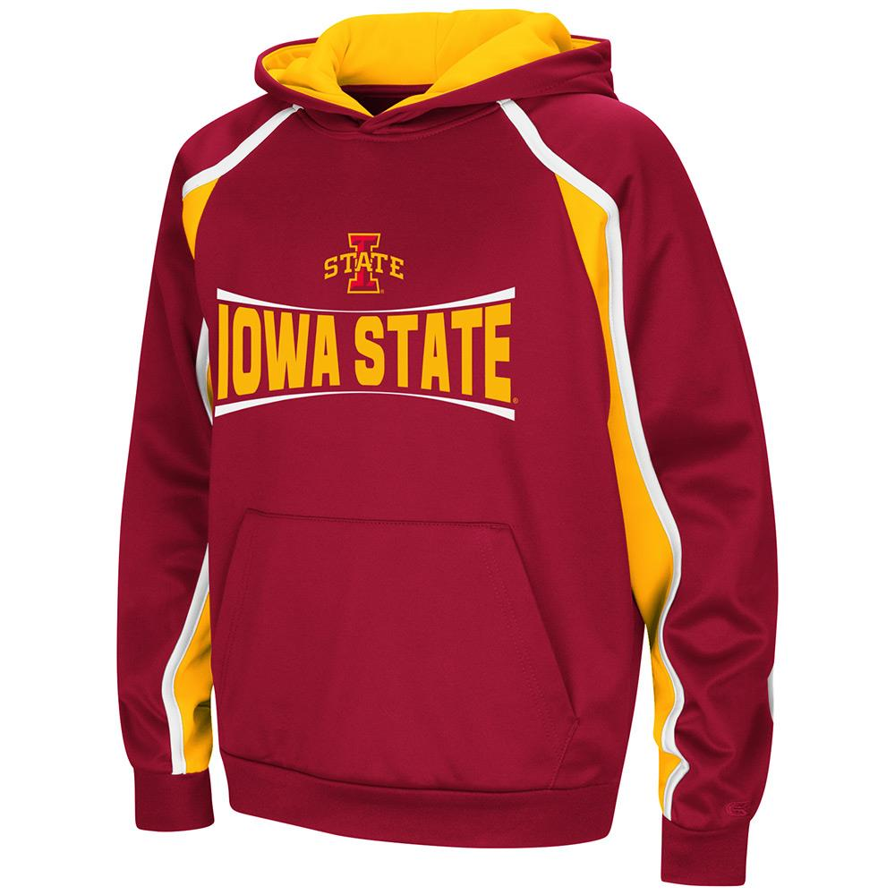 Youth Iowa State Cyclones Pull-over Hoodie - S