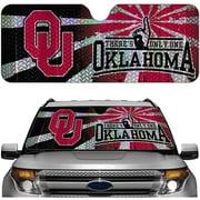 Oklahoma NCAA Auto Sunshade
