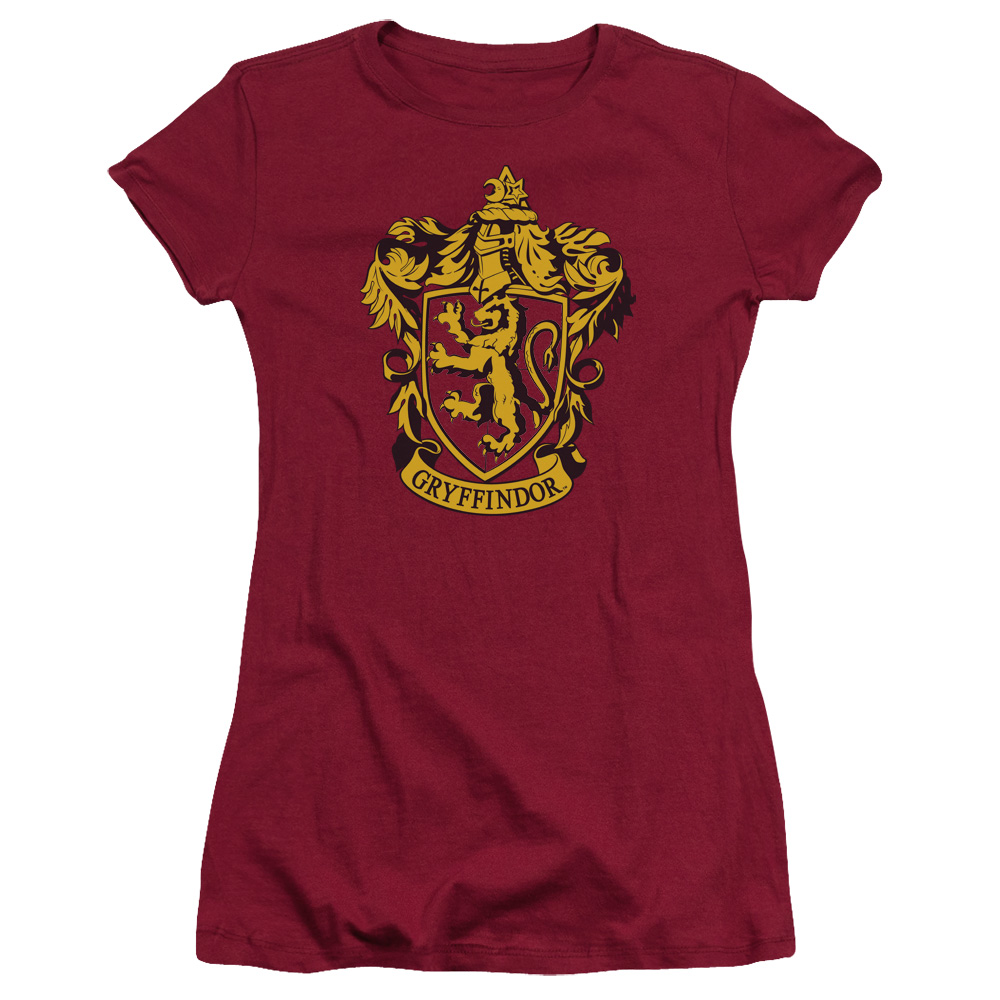 Harry Potter Gryffindor Crest Juniors Short Sleeve Shirt