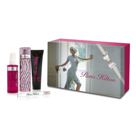 Paris Hilton 4 Piece Gift Set For Women 3 4 Oz  Edp Spray By Paris Hilton