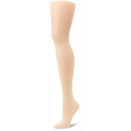 00P16 Silk Reflections Plus Sheer Control Top Enhanced Toe Pantyhose Size 4-5P, Pearl Ivory - image 1 de 1