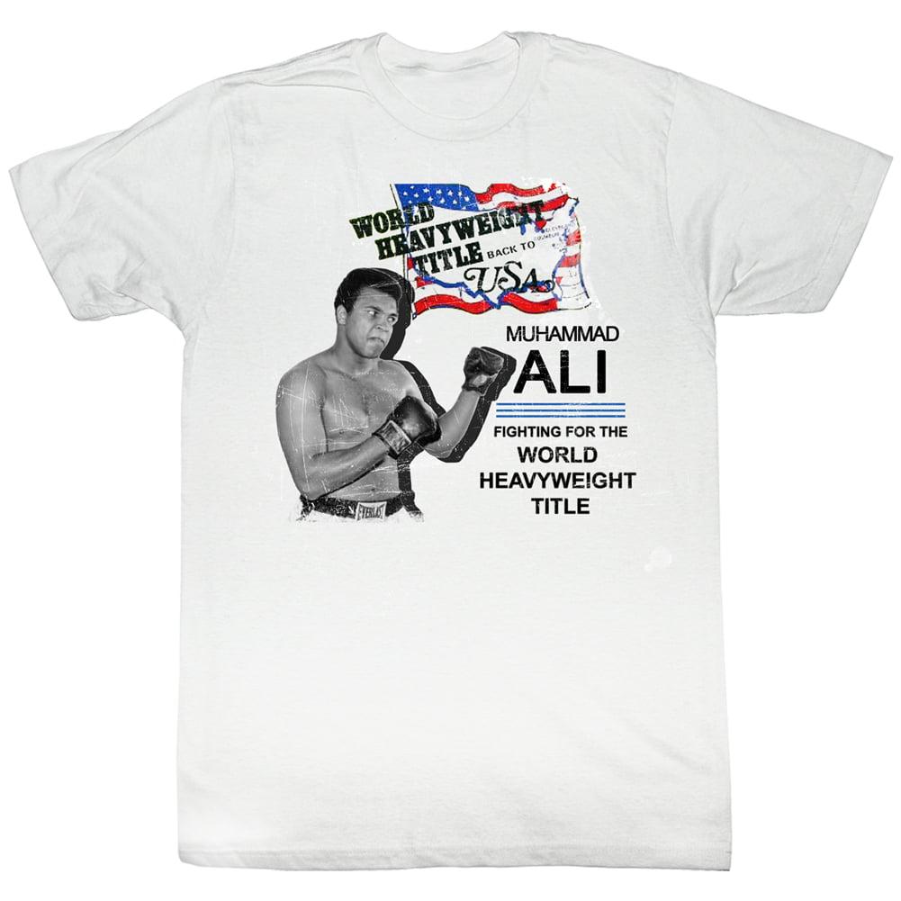 Muhammad Ali Usa Ali Adult T-Shirt Tee