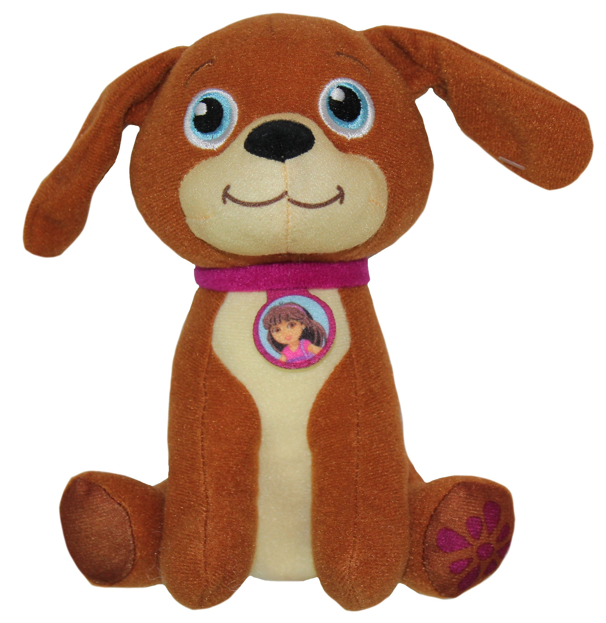 "Dora and Friends Doggie Day~ Perrito 6"" Plush by Fisher-Price"