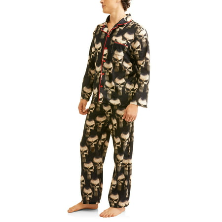 Marvel Comics Mens Lounge Pj (Mens Sleepwear Set)