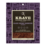Krave, Pork Jerky Black Cherry Barbecue, 2.7 Oz