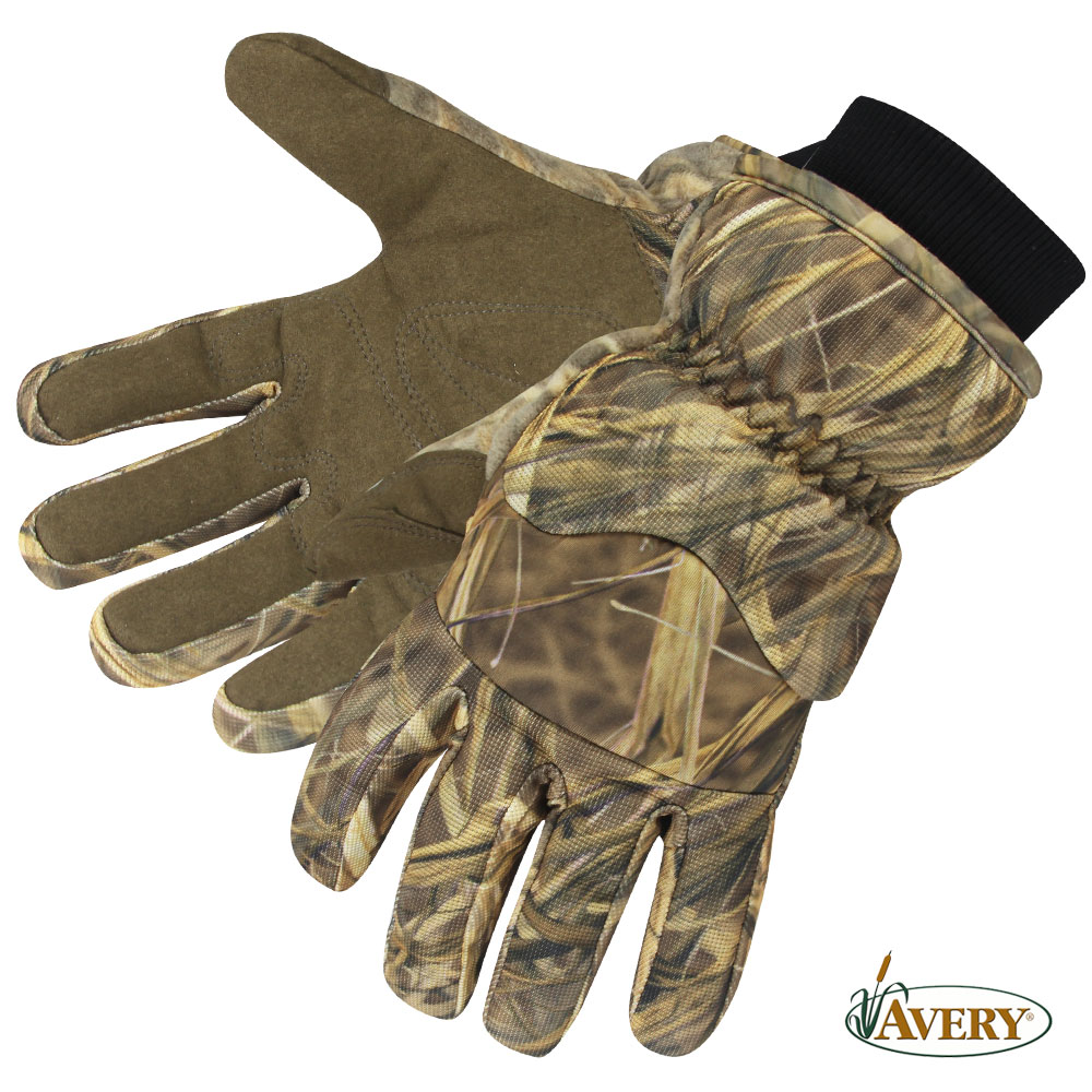 Avery GHG Hunter Waterproof Insulated Gloves (L)- KW-1