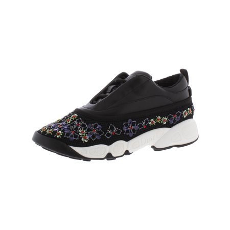 Dior Womens Fusion Leather Low Top Fashion Sneakers