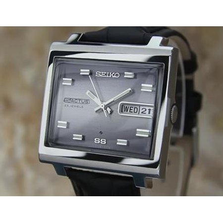 Seiko 5 Actus Vintage 1970s Automatic Made in Japan Stainless St Mens Watch EE54