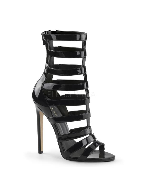 SEXY52/B Pleaser Single Size: Soles Ankle/Mid-Calf Boots BLACK Size: Single 5 11e76f