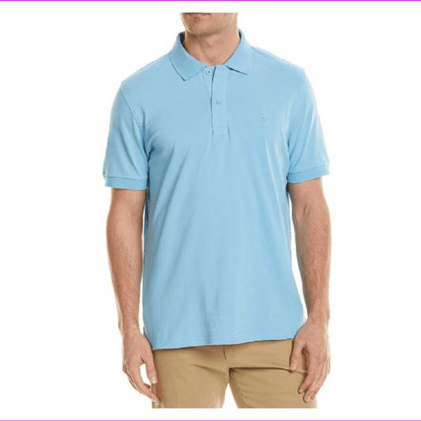 Tailorbyrd Mens Pique Polo Shirt Ocean Blue Size L