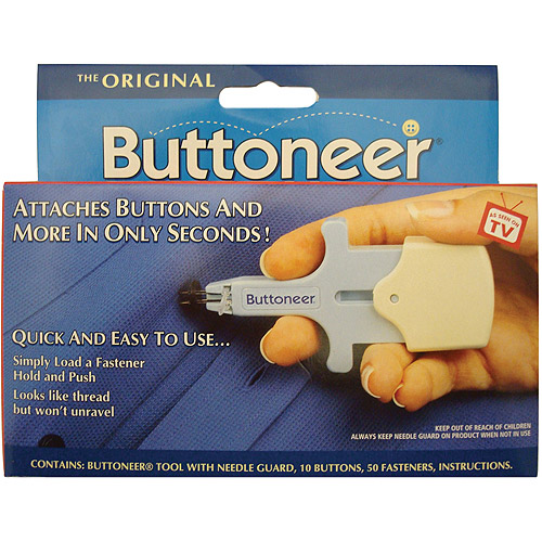The Original Buttoneer Fastening System
