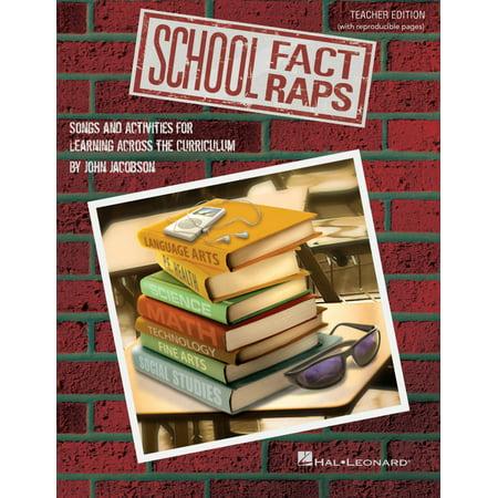 Hal Leonard School Fact Raps Performance Accompaniment Cd Composed By John Jacobson
