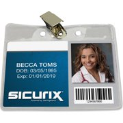 Baumgartens Sicurix Clip Style Badge Holders