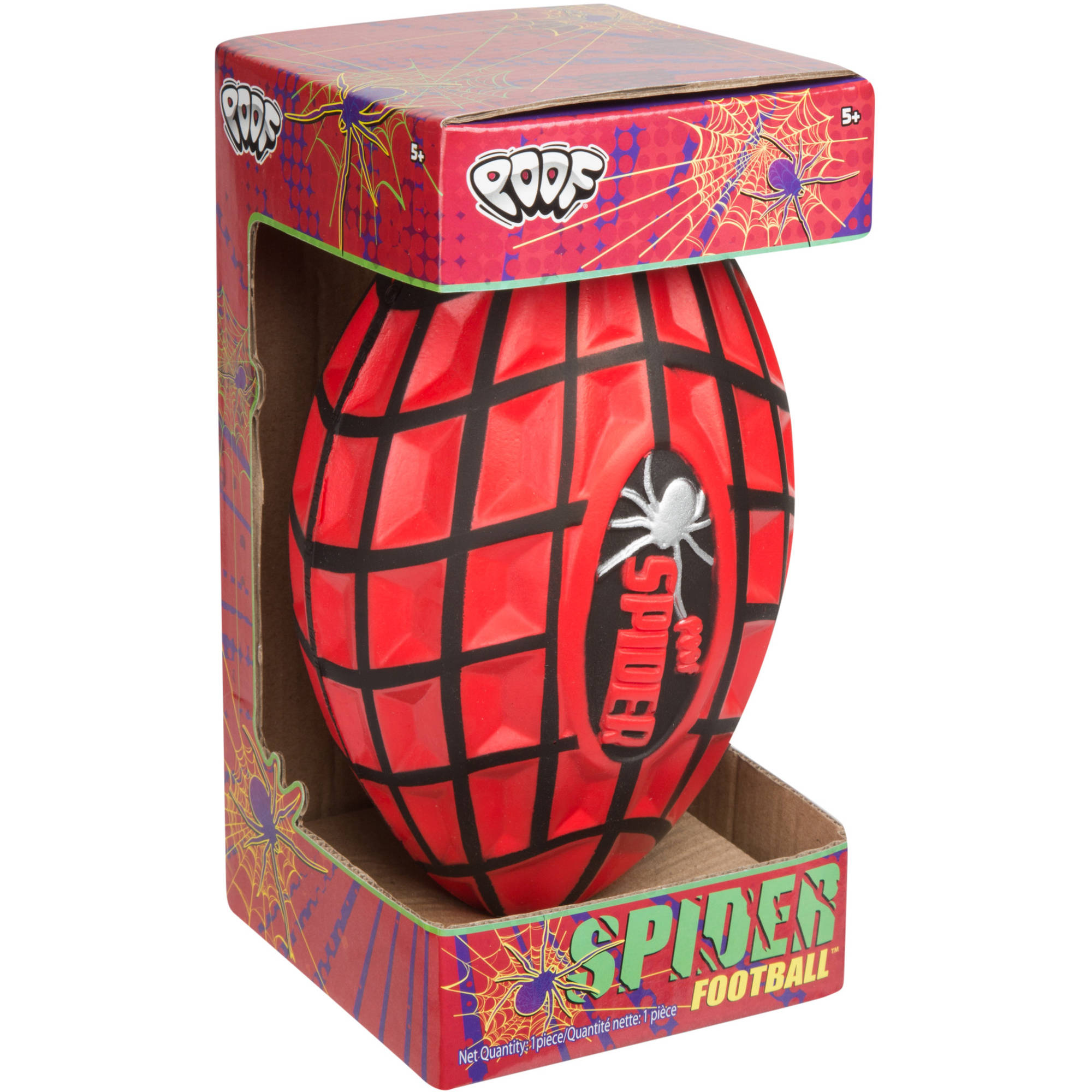 POOF Spider Football in Box by Poof-Slinky Inc
