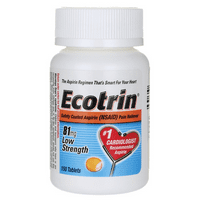 Ecotrin Low Strength 81 mg 150 Tabs