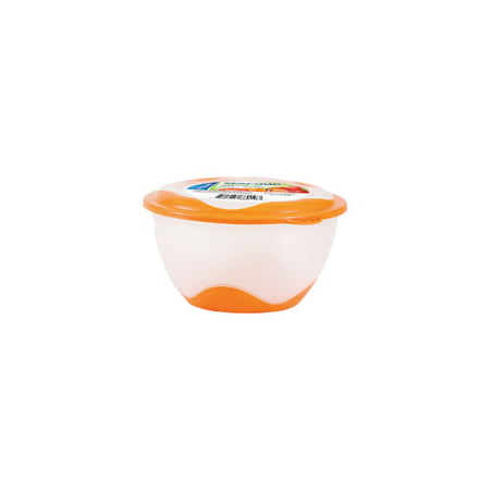 Easy Pack 8019 Storage Container, 800 mL Capacity, Round, Plastic 6 Pack