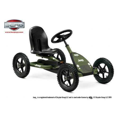 Berg USA Jeep Junior Pedal Go Kart