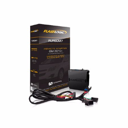 Flashlogic FLRSGM7 Plug And Play Remote Start For 2010-14 Gm Vehicles With Flip Key (Remote Start Gm Kit)