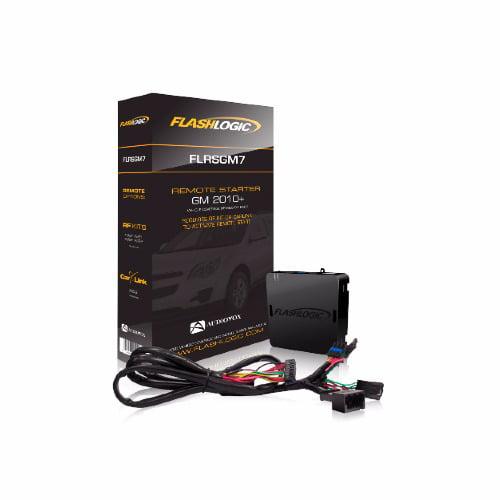 Flashlogic FLRSGM7 Plug And Play Remote Start For 2010-14 Gm Vehicles With Flip Key