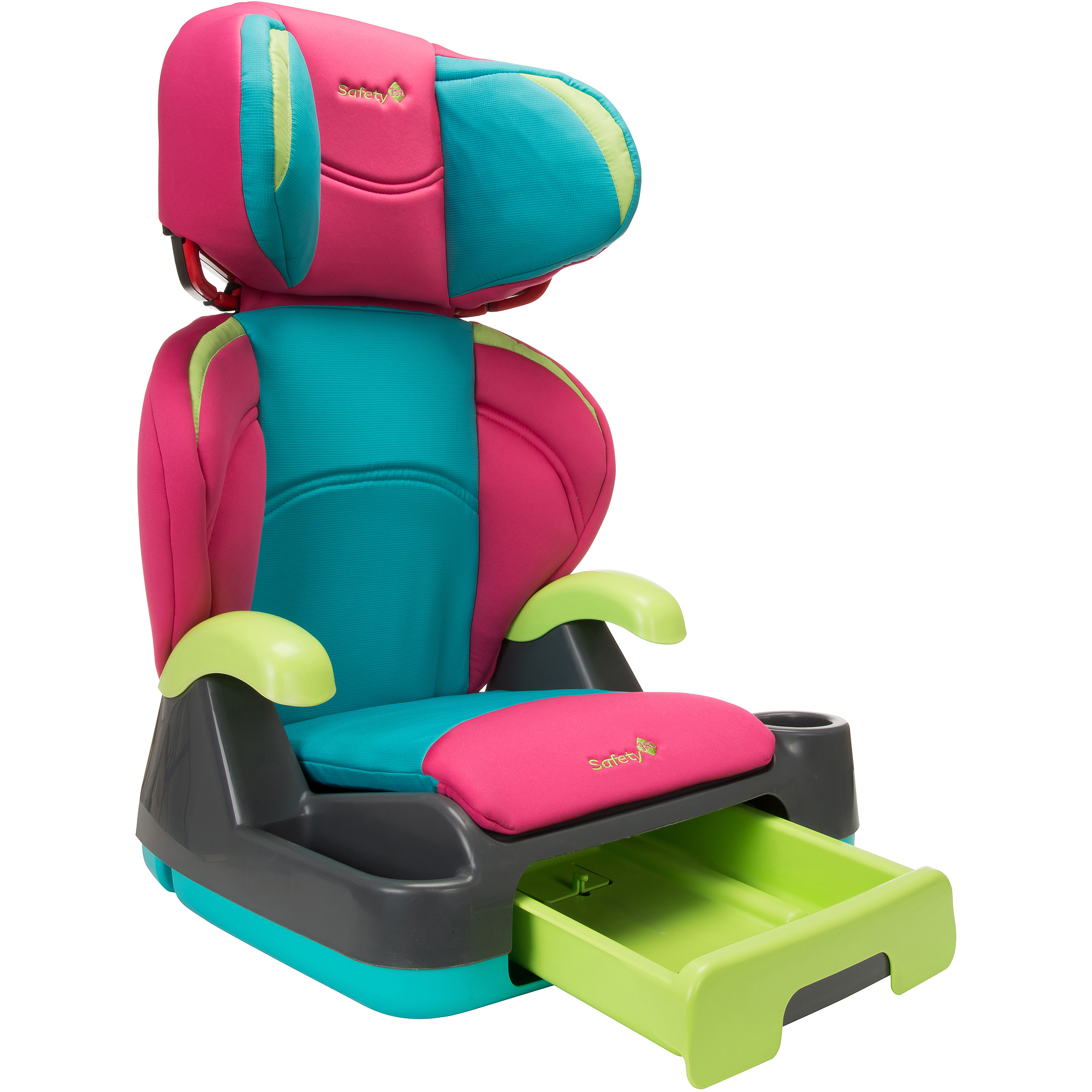 Safety 1st Store 'N Go Booster Car Seat, Belt-Positioning, Fruit Punch