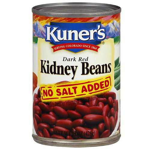 Kuner's Dark Red Kidney Beans, 15 oz (Pack of 12)