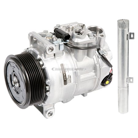 (OEM AC Compressor w/ A/C Drier For Mercedes-Benz E320 2007 2008 2009)