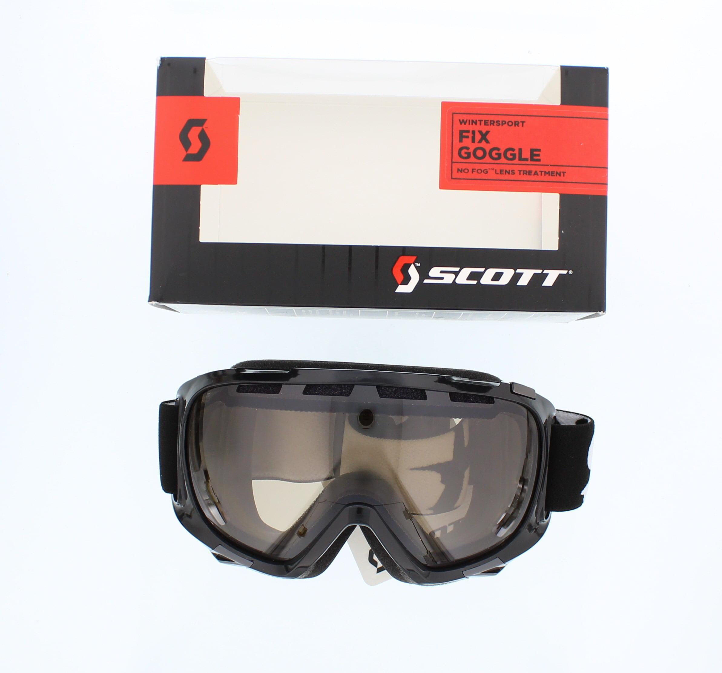 Scott Fix Snow Ski Goggles Black Natural Lens by SCOTT