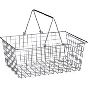 Spectrum Diversified Large Wire Basket, Chrome, 43470